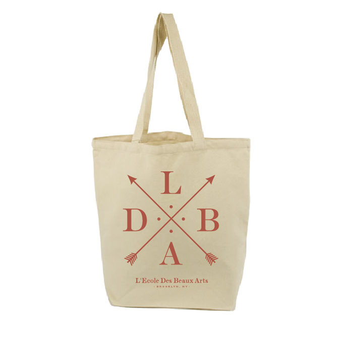 LDBA organic cotton totebag