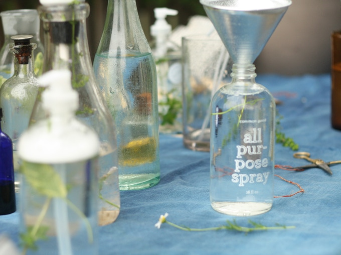 ADULT CLASS REWARD: Make your own cleaning products. Sacha Dunn