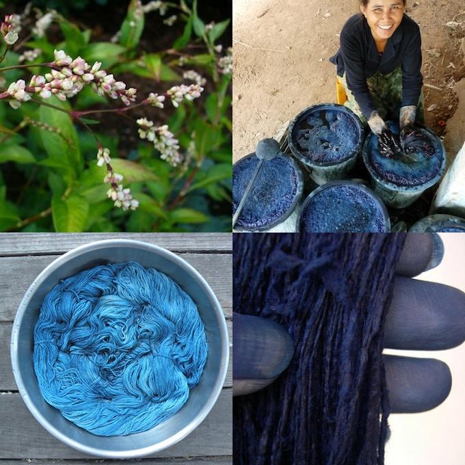 ADULT CLASS REWARD: Indigo dyeing. Lindsay Robinson