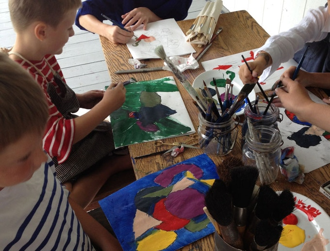 KID's CLASS REWARD: Intro to painting. Jules De Balincourt