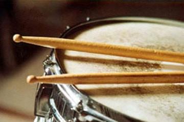 KID'S CLASS REWARD: Intro to drumming. Chris Bear
