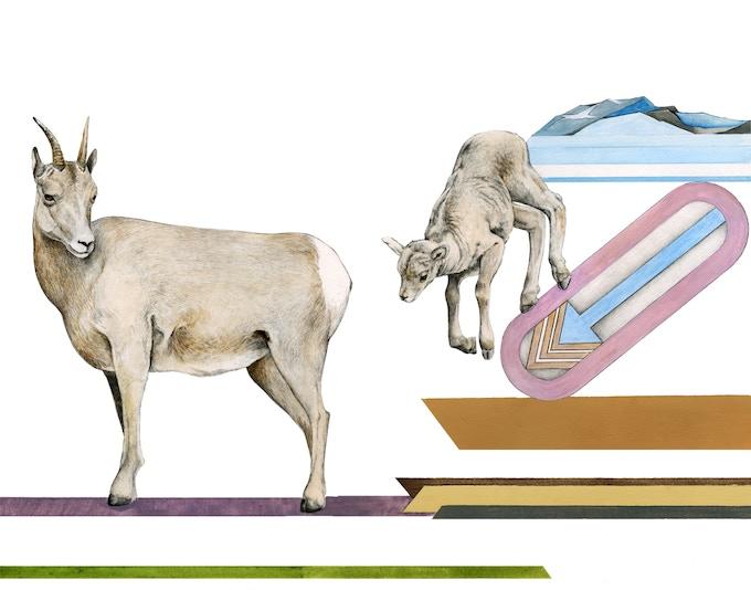 Option 1 - Migrating Mural concept sketch