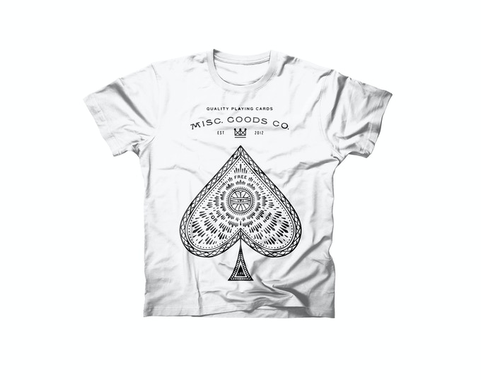 New T-shirt Design. The Ace of Spades.