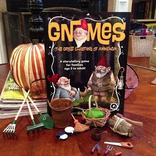 Pledge at $28 or more and get gnome-sized evidence for your adventure!