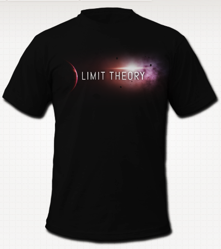 Mock-Up of Limit Theory T-Shirt