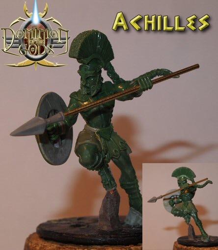 Achilles, the invincible man.