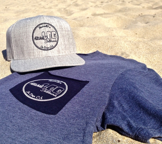 Wool blend SnapBack and Organic T-shirt