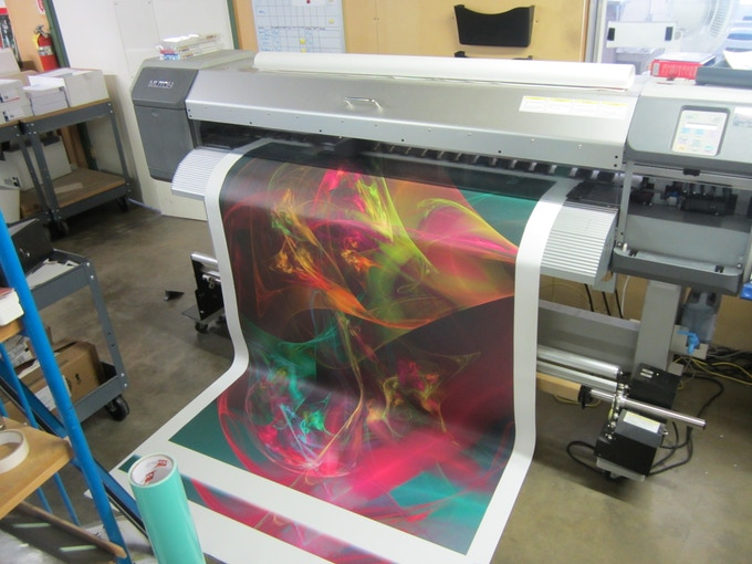 """Printing 4 X 6 foot """"Sistine"""" (Wormhole project)"""