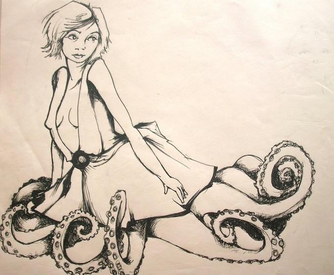 Random doodles from the artist