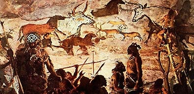 25,000 year old Lascaux cave paintings
