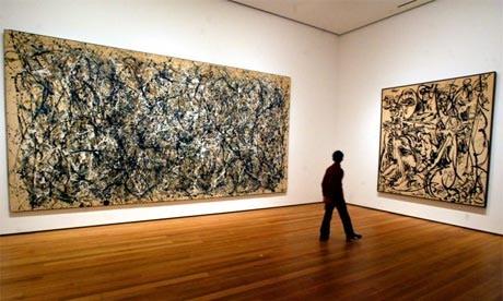 Jackson Polleck paintings