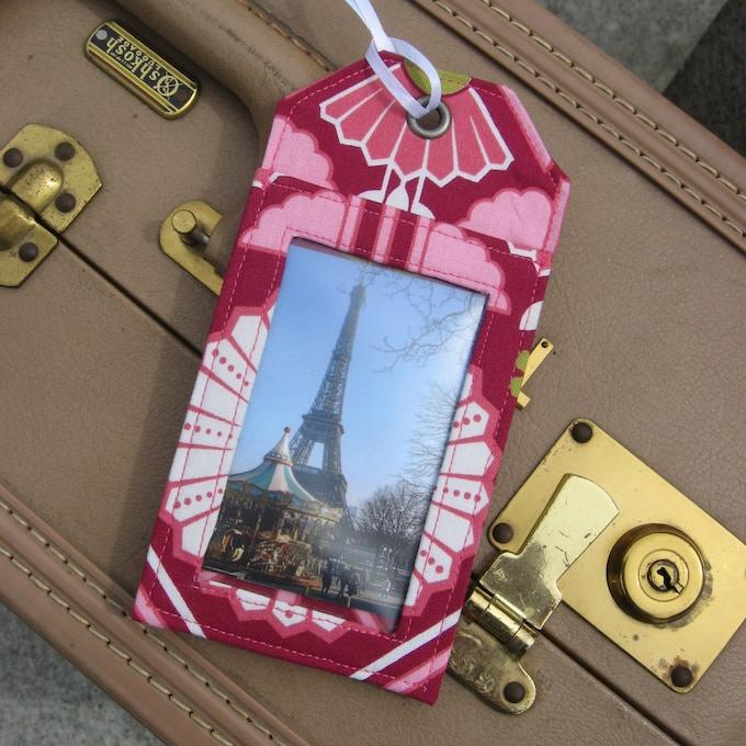 One luggage tag $14 backer reward or 2 tags for $25 reward