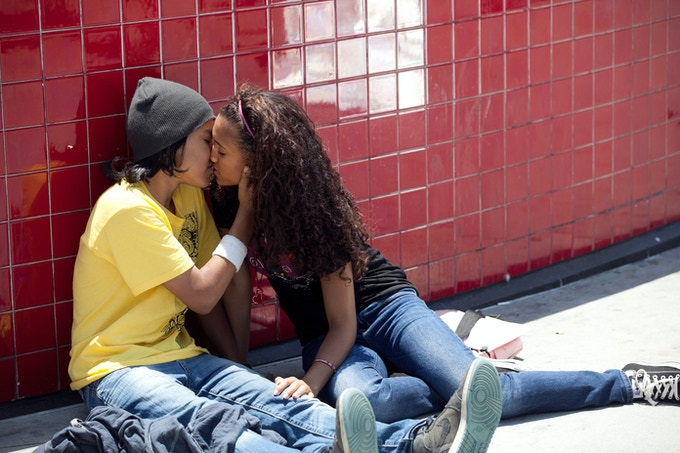 Young love with Angel Amaral & Paige Hurd playing Angel & Jazmine.