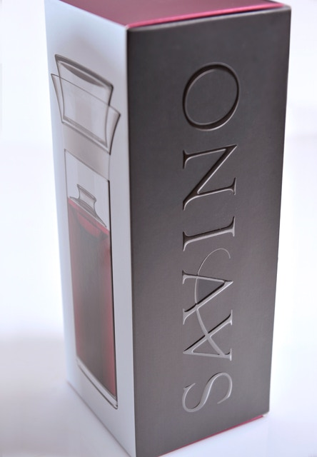 Savino comes in a gorgeous retail box