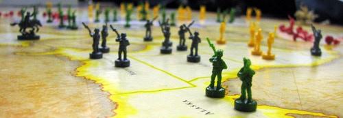 Strategic territory control - like in the board game Risk - in Hailan Rising.