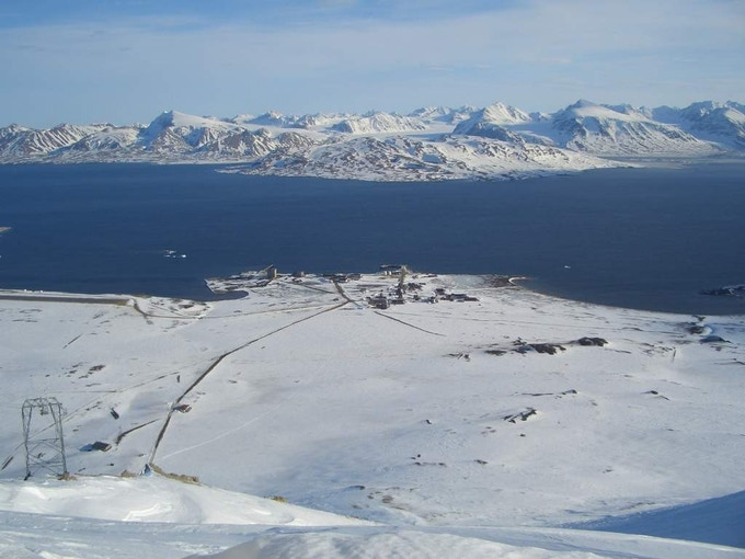 Anyone for ice caving in Svalbard?