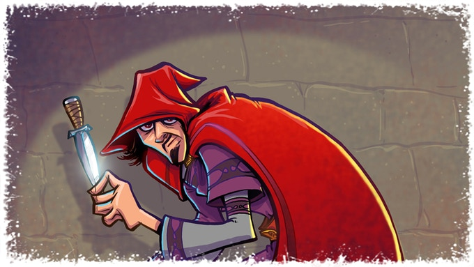 Rogue: A perfect adventurer for removing traps and scouting rooms.
