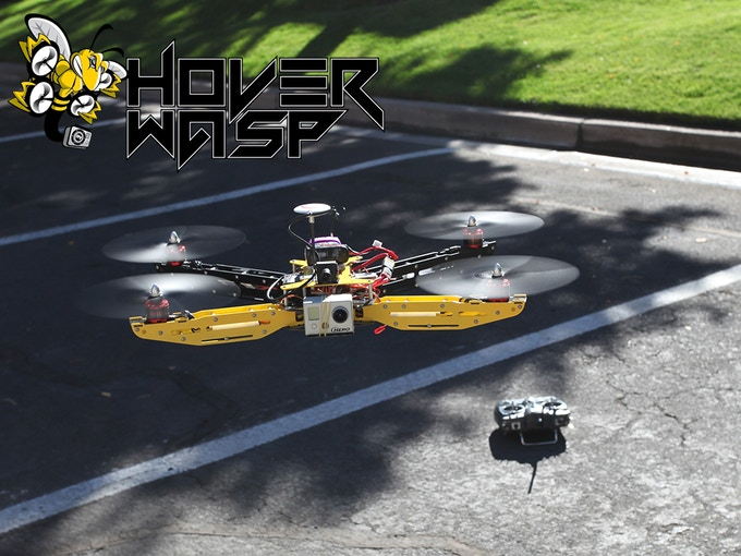 "Prototype of the Bad Ass HoverWASP Stinger ""VTOL"""
