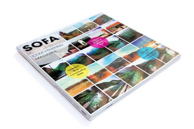 print prototype of the magazine