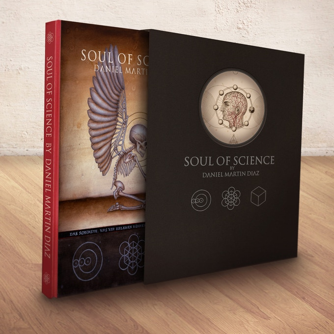 Slipcase and book mock-up