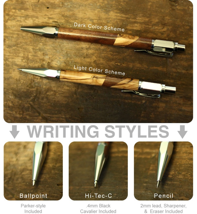 The Precision Collection ・ Writing Instruments By Chad