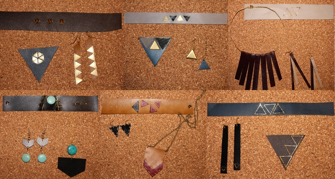 A quick preview of the jewelry. Better pictures to come soon.