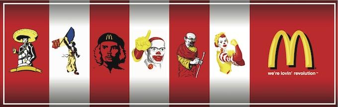 the McRevolutionaries poster series