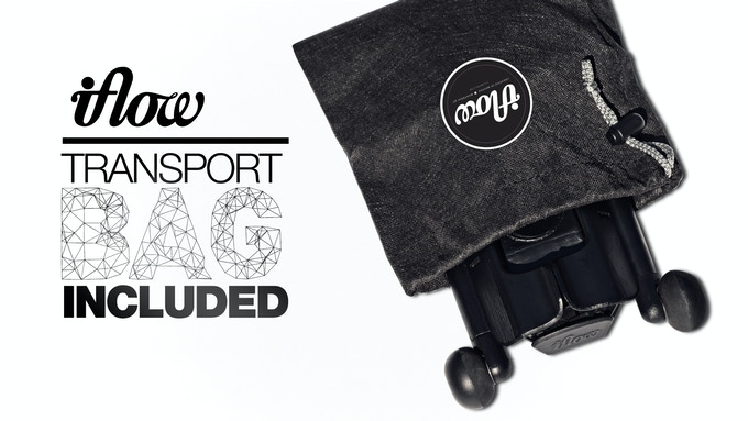 Transport bag included with every IFLOW