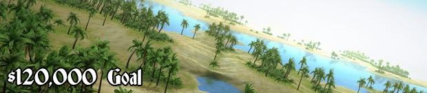 $120,000 Goal - Tropical Lands