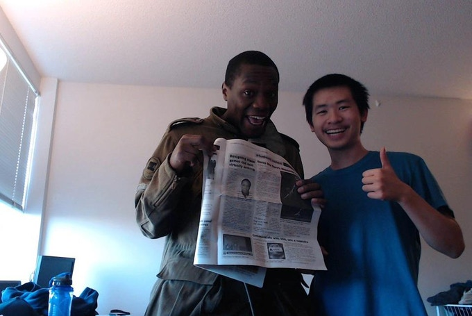 Yup, the UIC News Newspaper covered us!