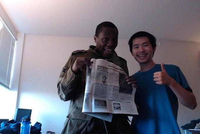 Yup, the UIC News Newspaper covered us!