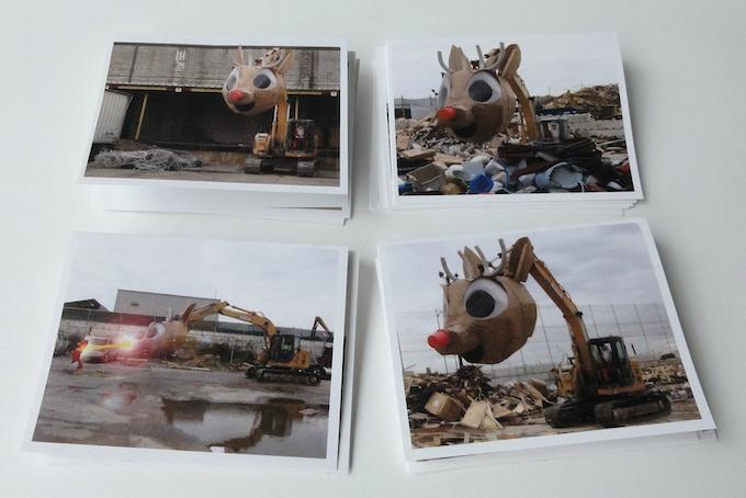 Rudolph Holiday Card Set