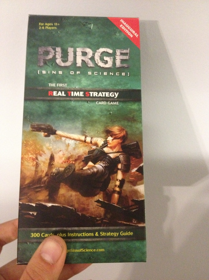 PURGE: Sins of Science Box