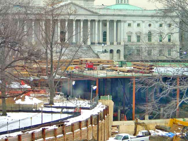 What are they REALLY digging up under the U.S. Capitol?  ©2004 @lantis Media Corp.