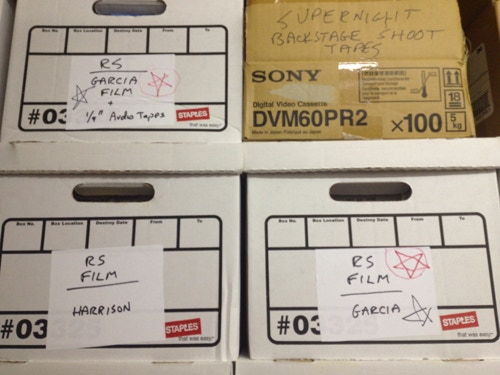 """16mm Negative of the Garcia Interview in """"The Vault"""""""