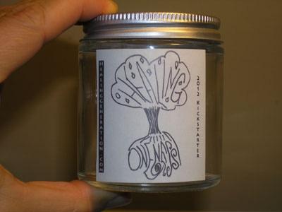 4 oz custom-labeled jar