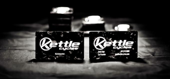 Get a run of custom carbon fiber business cards!
