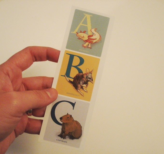 the bookmarks are here & they're adorable (and free with pledges over $20!)