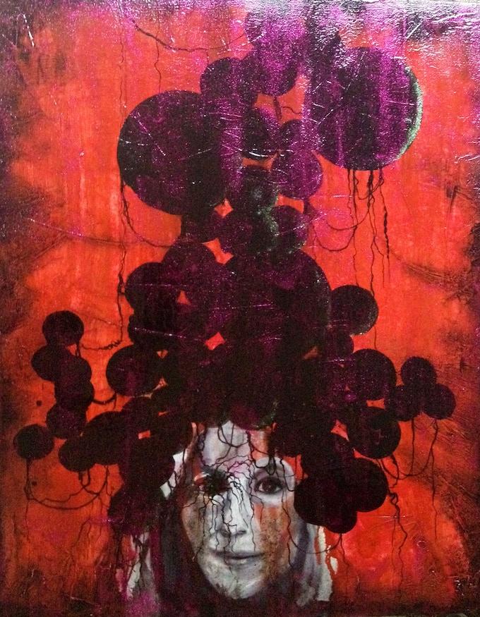 """Troncones"" Oil on linen, 2012"