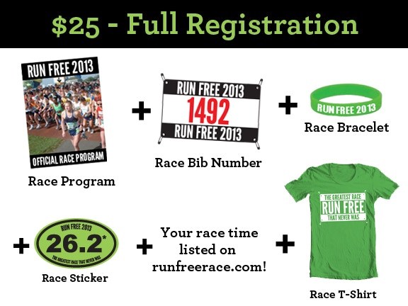 $25 - Full Registration