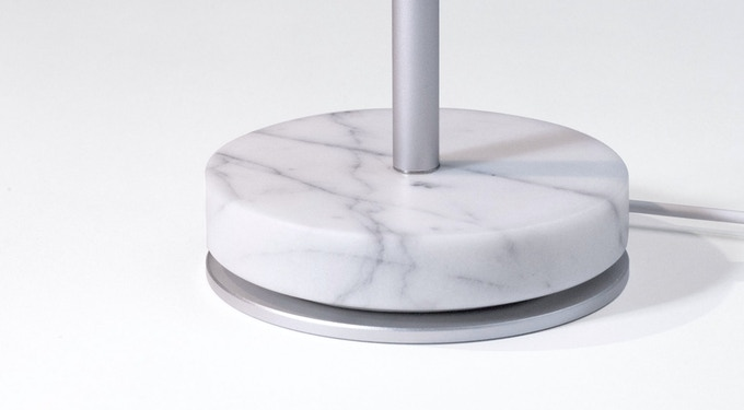 Carrara Marble Base