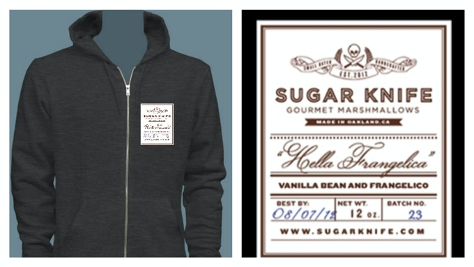 American Apparel Sugar Knife Hoodie.  Fresh to death.