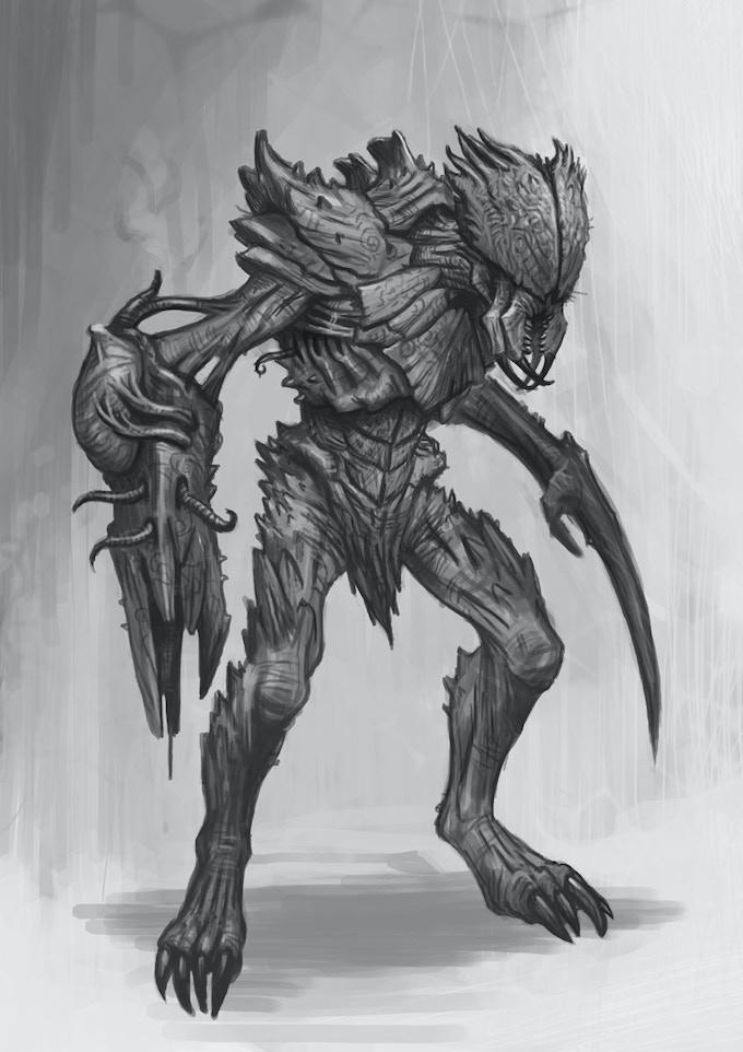 Revised swarm warrior (Soldier)