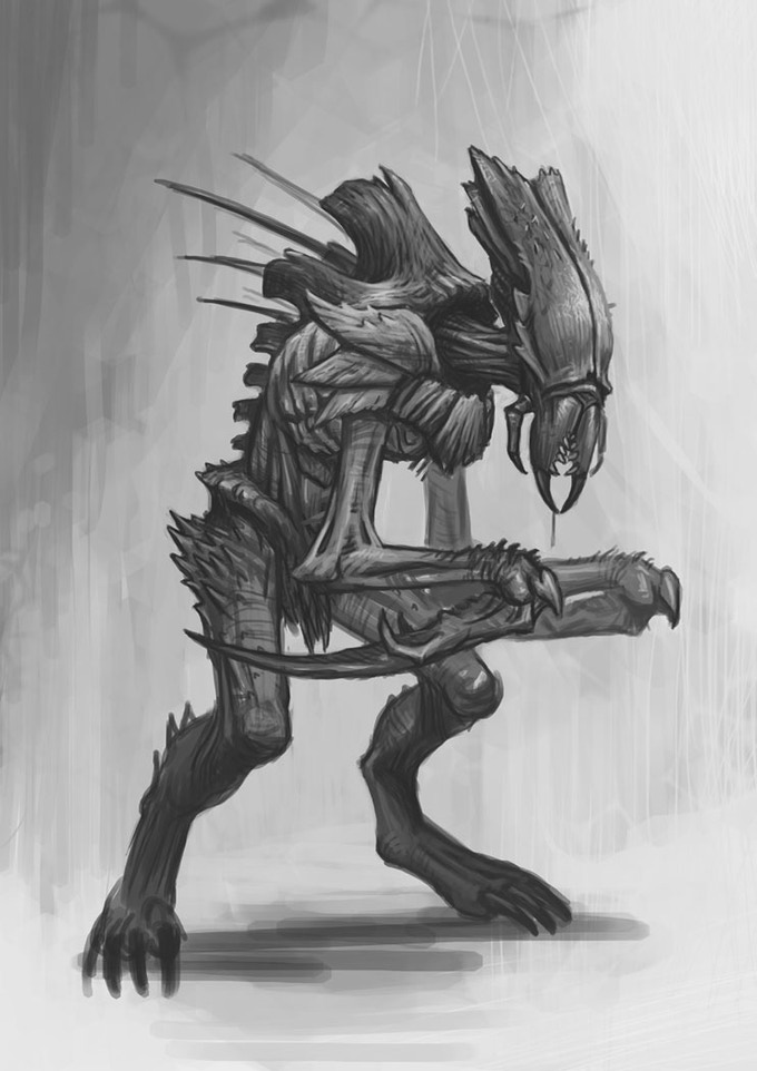 Stealth Swarm warrior (Sneak soldier)