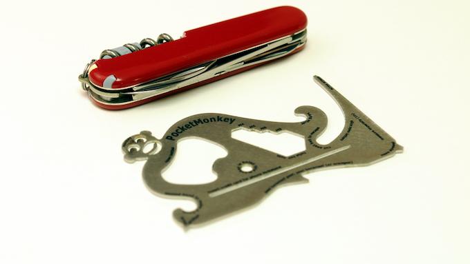 Pocket knives are so 1999. Get a PocketMonkey!