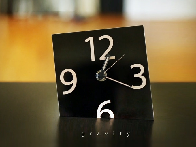 The Gravity Clock: Harmony of function and design.