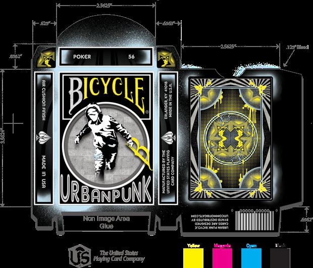 Urban Punk Tuck Box Design