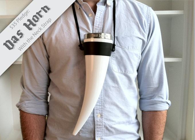 The Das Horn Neck Strap