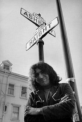 October 1966 Ashbury and Haight (photo courtesy of Corbis Images)