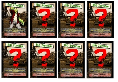 """Bonus """"BIG Zombie"""" Tracker - The bigger they are, the deader you are."""